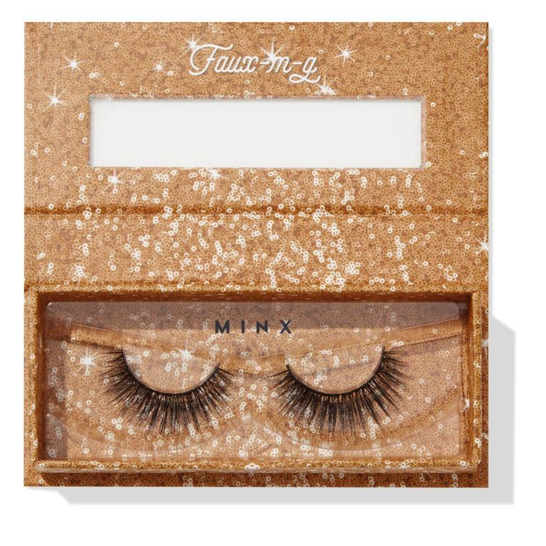 Colourpop Cosmetics Solid Gold Collection Falsies Faux Lashes Minx Open