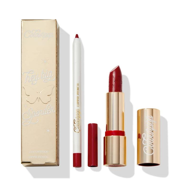 Colourpop Cosmetics Solid Gold Collection Lip Bundles Hey Big Spender