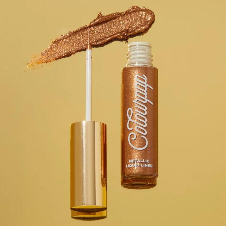Colourpop Cosmetics Solid Gold Collection Metallic Liquid Liner Bronze Touch