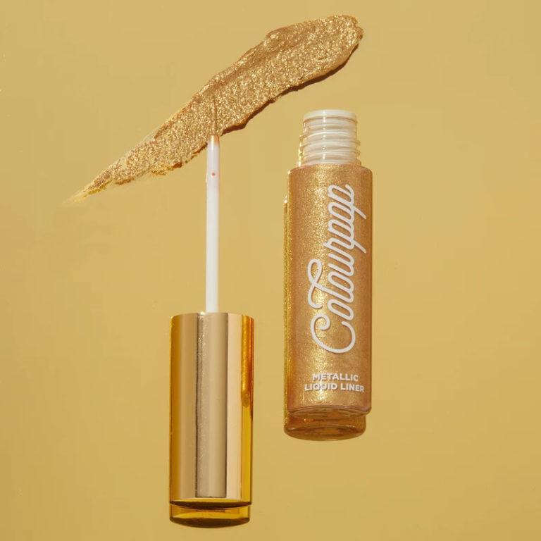Colourpop Cosmetics Solid Gold Collection Metallic Liquid Liner Gold Rush