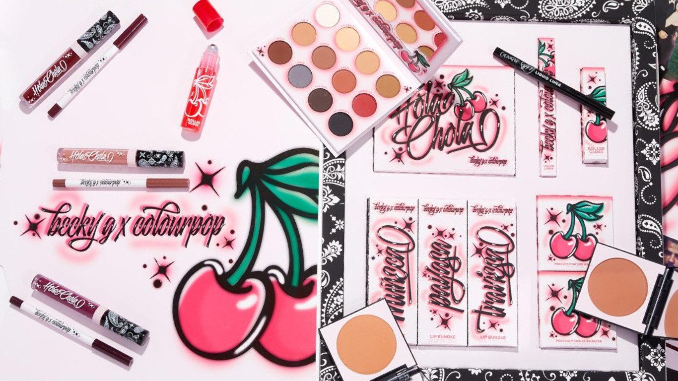 Colourpop x Becky G Hola Chola Collection Blog Header