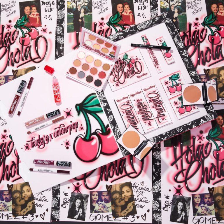 Colourpop x Becky G Hola Chola Collection PR BOX