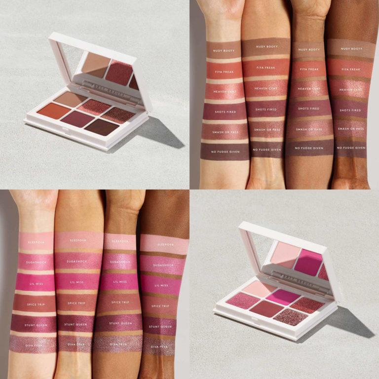 Fenty Beauty Snap Shadows Mix & Match Eyeshadow Palettes 3 & 4