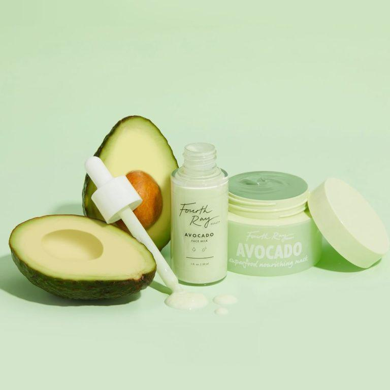 Fourth Ray Beauty Avocado Face Milk & Avocado Superfood Nourishing Mask Cover