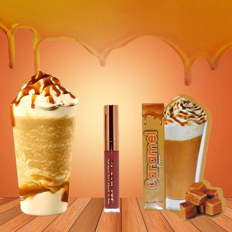 Glamlite Sweet Tooth Lip Gloss Collection Caramel Frappe
