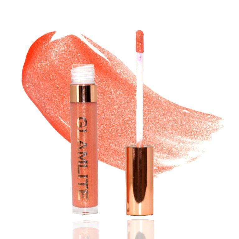 Glamlite Sweet Tooth Lip Gloss Collection Donut Lip Glaze Product & Swatch