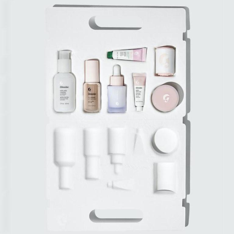 Glossier The Skincare Edit Open