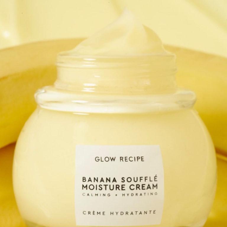 Glow Recipe Banana Soufflé Moisture Cream Closer