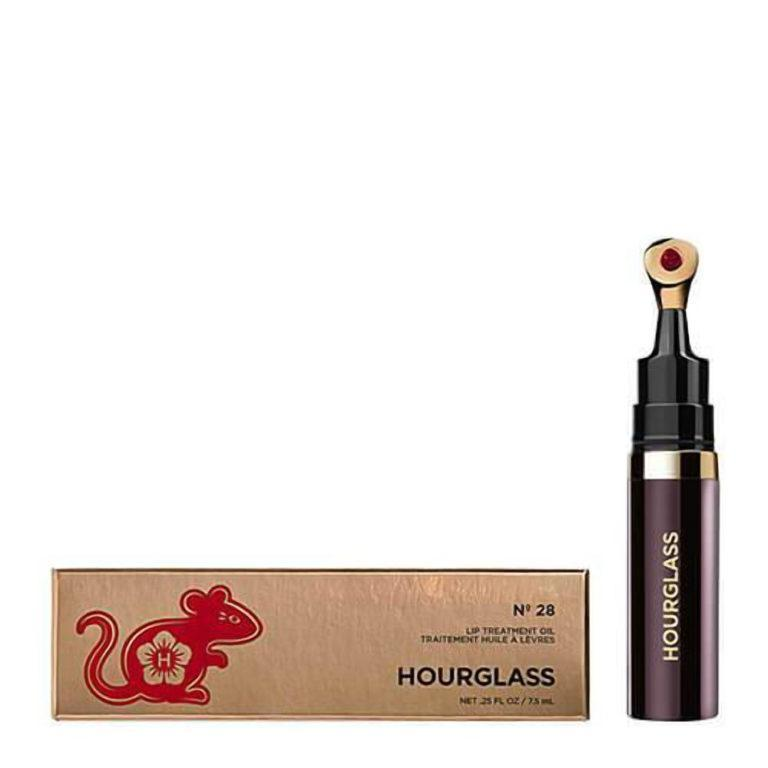Hourglass Limited Edition No. 28 Lip Treatment Oil At Night Product And Case