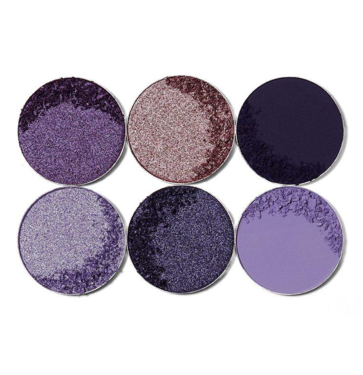 Juvia´s Place The Mini Palettes The Violets Crash Swatches