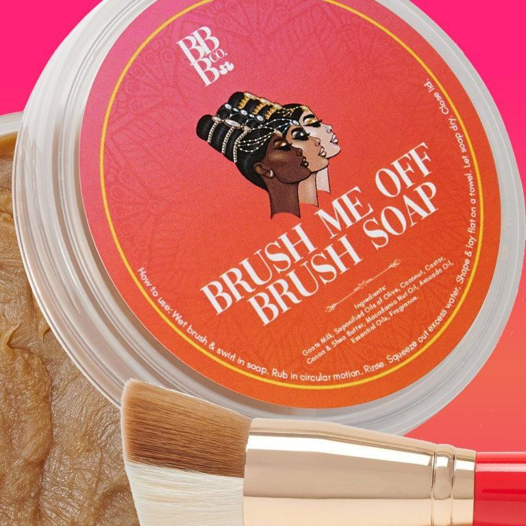 Juvia's Place x Bubble Babez Brush Me Off Brush Soap