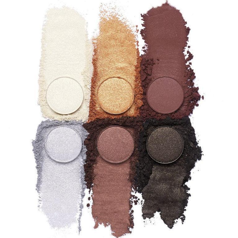 KKW Beauty Glitz & Glam Collection Glitz & Glam Eyeshadow Palette Crash Swatches