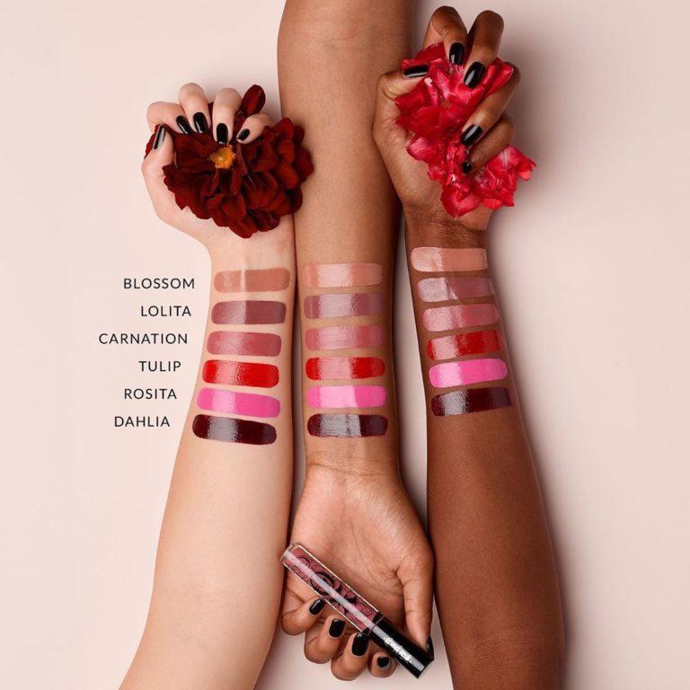 Kat Von D Beauty XO Vinyl Lip Cream Swatches