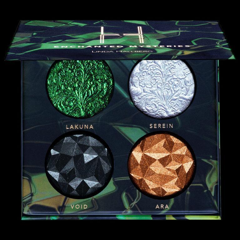 Linda Hallberg Cosmetics Enchanted Mysteries Palette Web