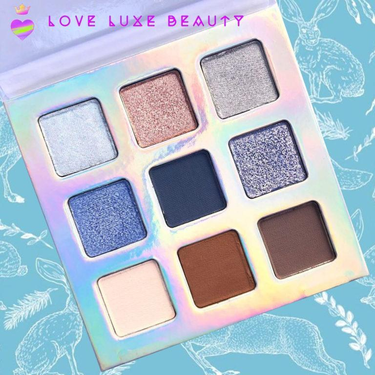 Love Luxe Beauty WINTER WOODS Palette Cover