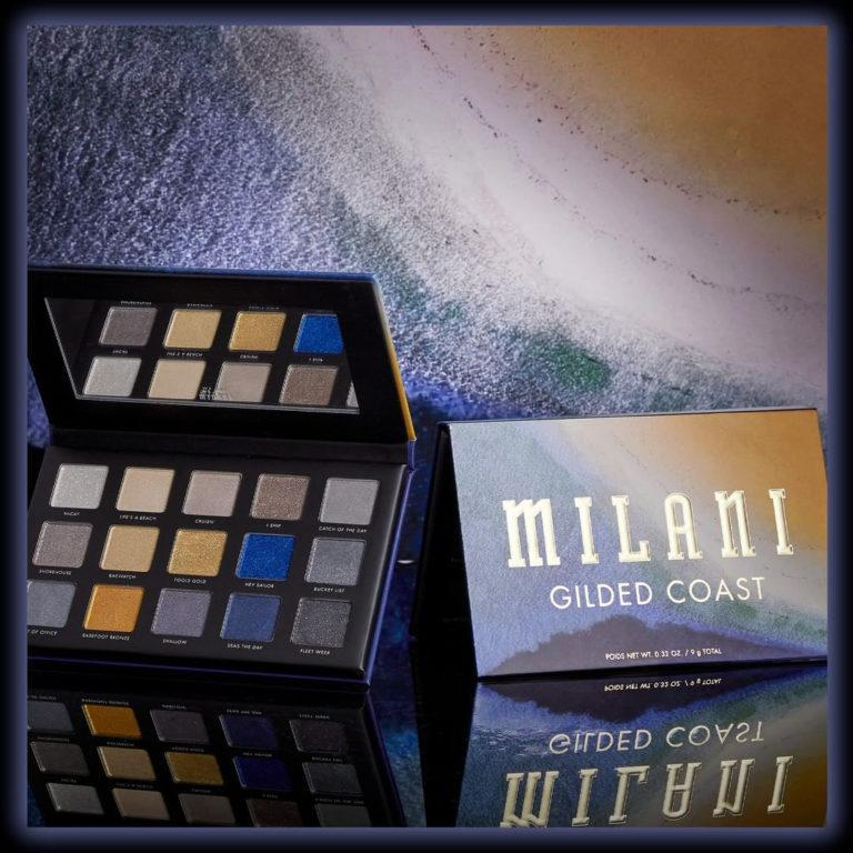 Milani Cosmetics Gilded Coast Eyeshadow Palette Promo