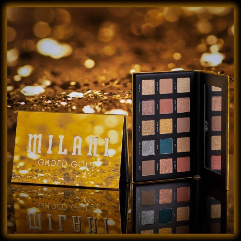 Milani Cosmetics Gilded Gold Eyeshadow Palette Promo