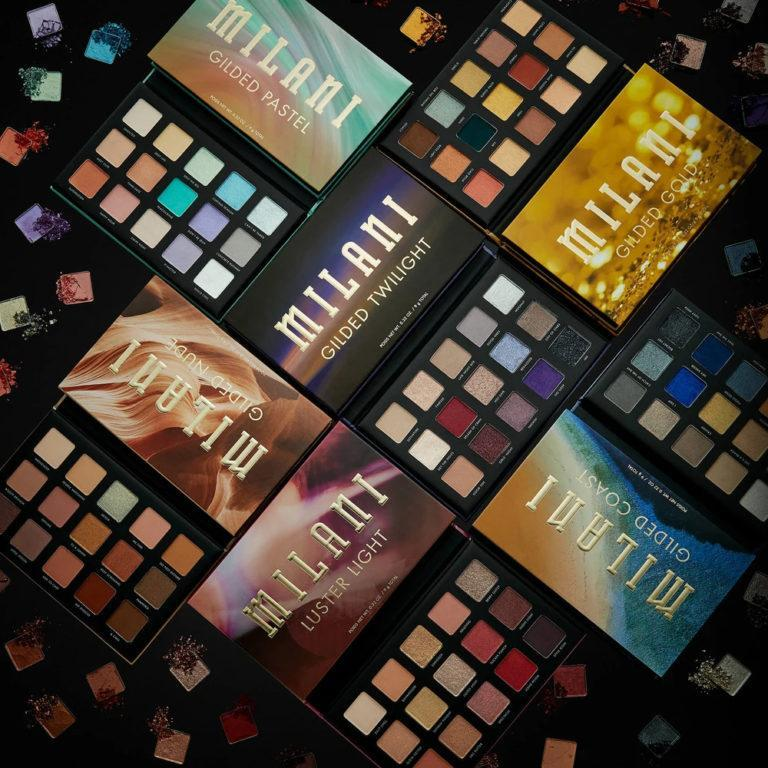 Milani Cosmetics Gilded Palettes Post Cover