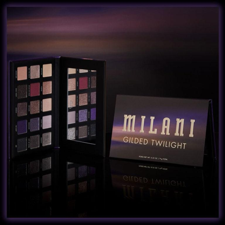 Milani Cosmetics Gilded Twilight Eyeshadow Palette Promo