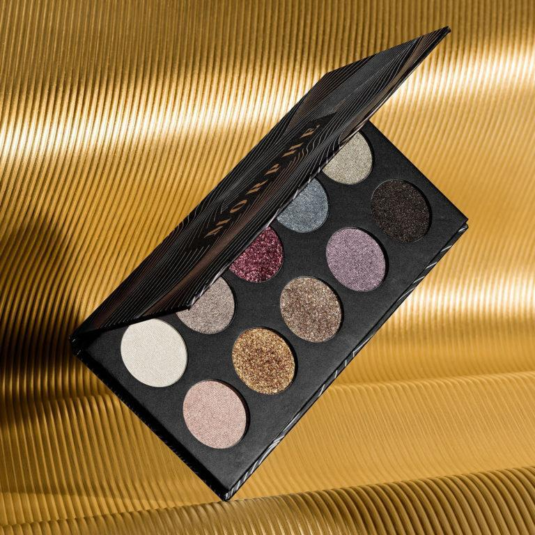 Morphe Dare To Dazzle New Year's Eve Collection 10M Midnight Gleamin' Artistry Palette Promo