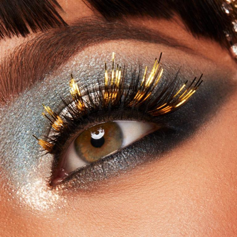 Morphe Dare To Dazzle New Year's Eve Collection Confetti Premium Lashes Eye Promo
