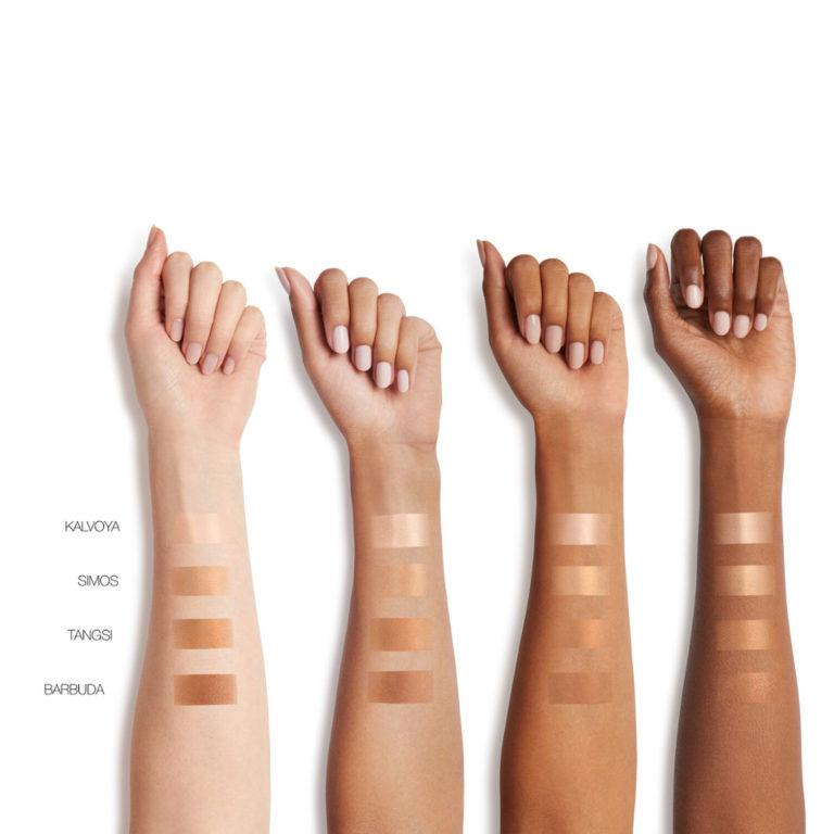 NARS Tinted Glow Booster Swatches