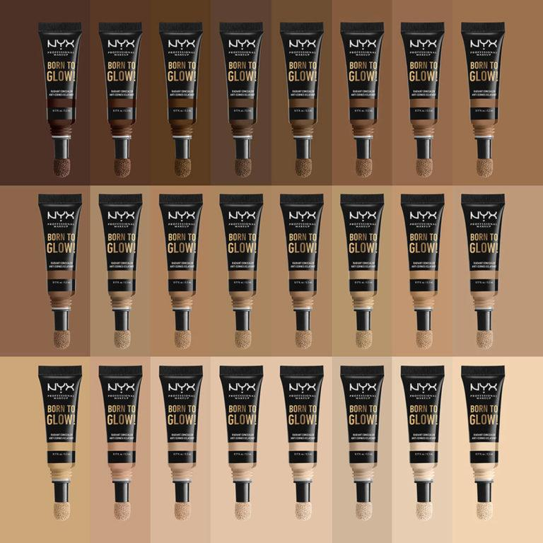 NYX New Products Born To Glow Radiant Concealer