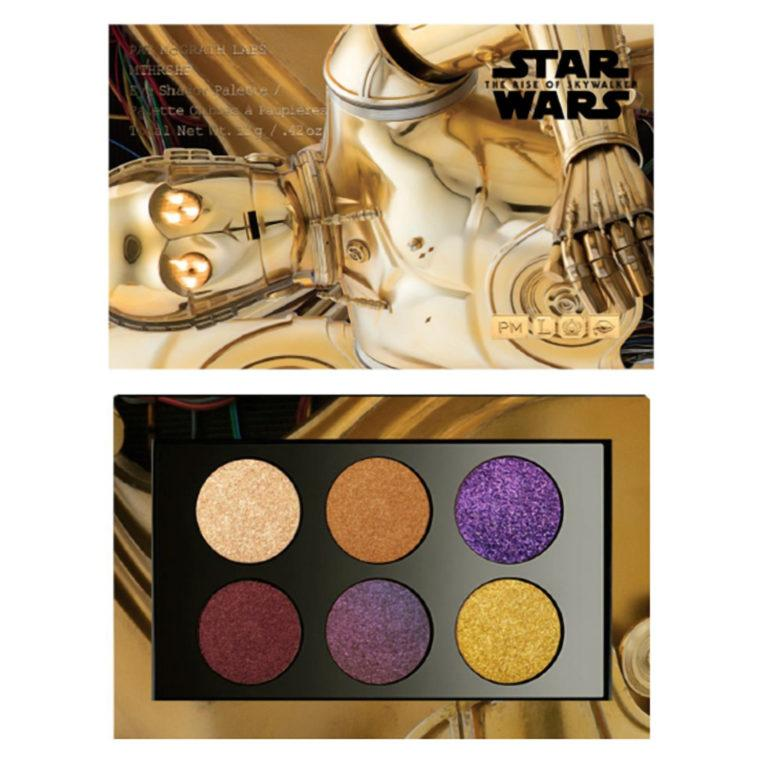 Pat McGrath Labs Star Wars Collection MTHRSHP x Star Wars Palette Galactic Gold