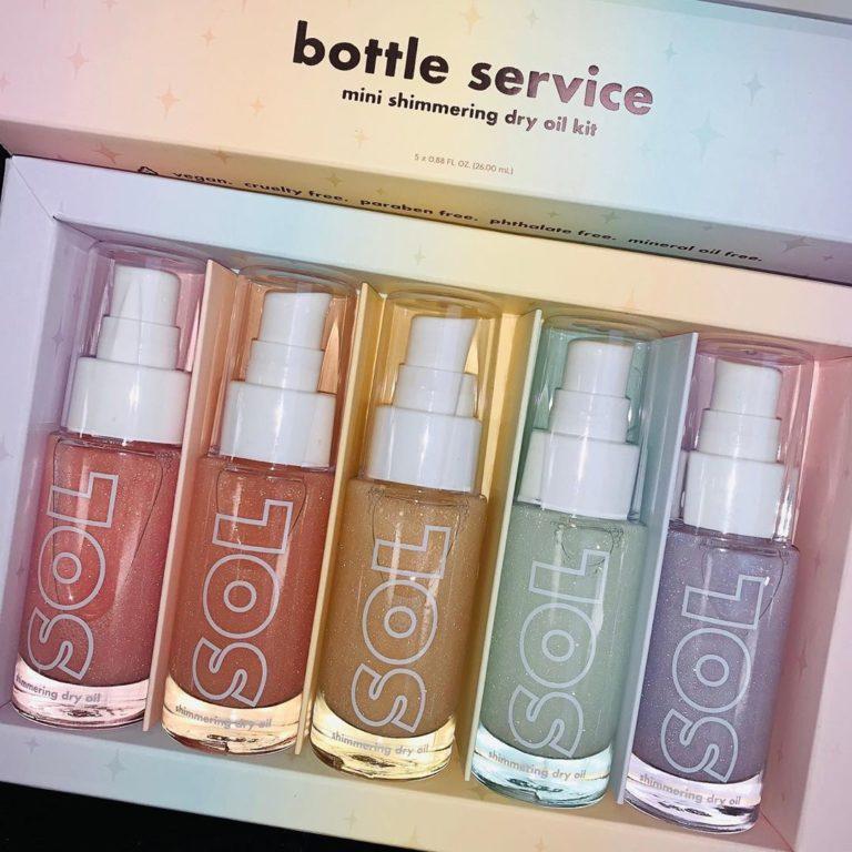 Sol Body Bottle Service Set