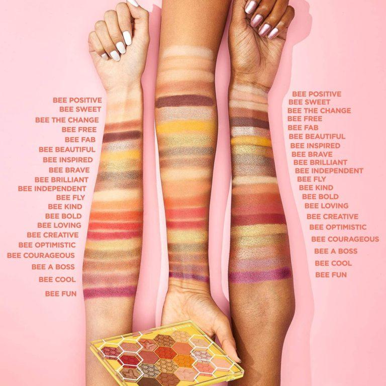Sugar Rush Bee You Eyeshadow Palette Swatches