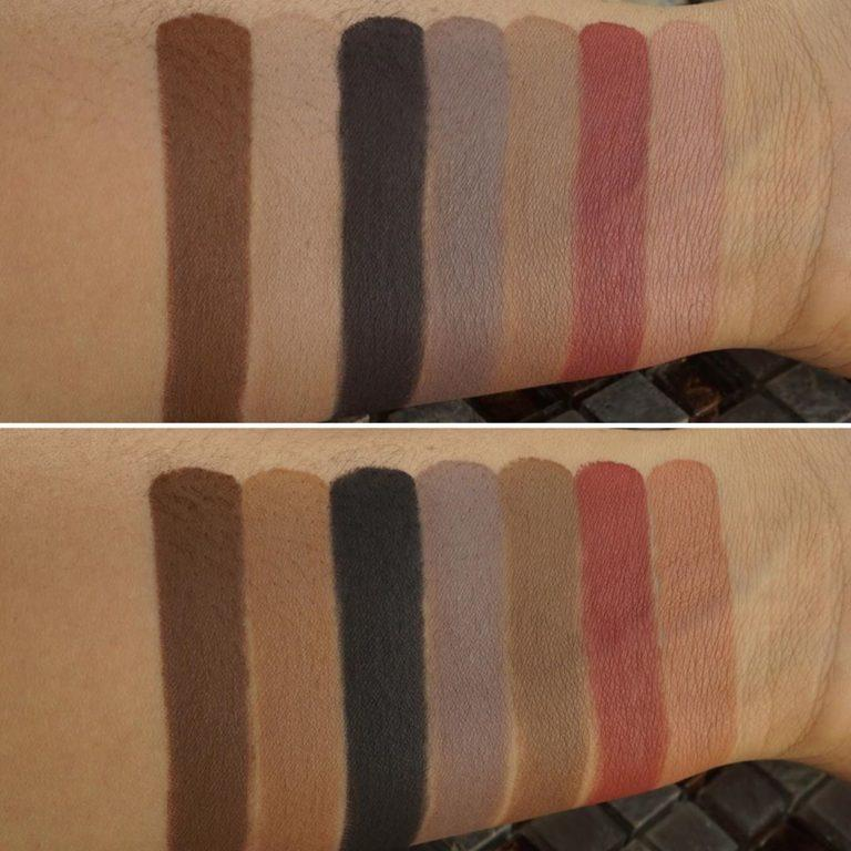 Sydney Grace Enduring Love Eyeshadow Palette Arm Swatches 1