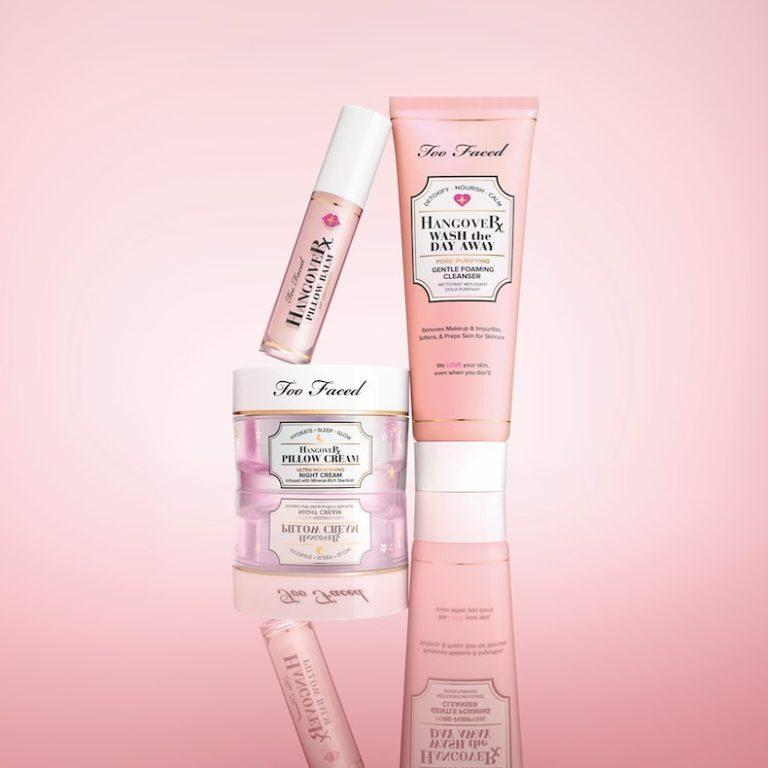 Too Faced Hangover Skincare Line New Additions
