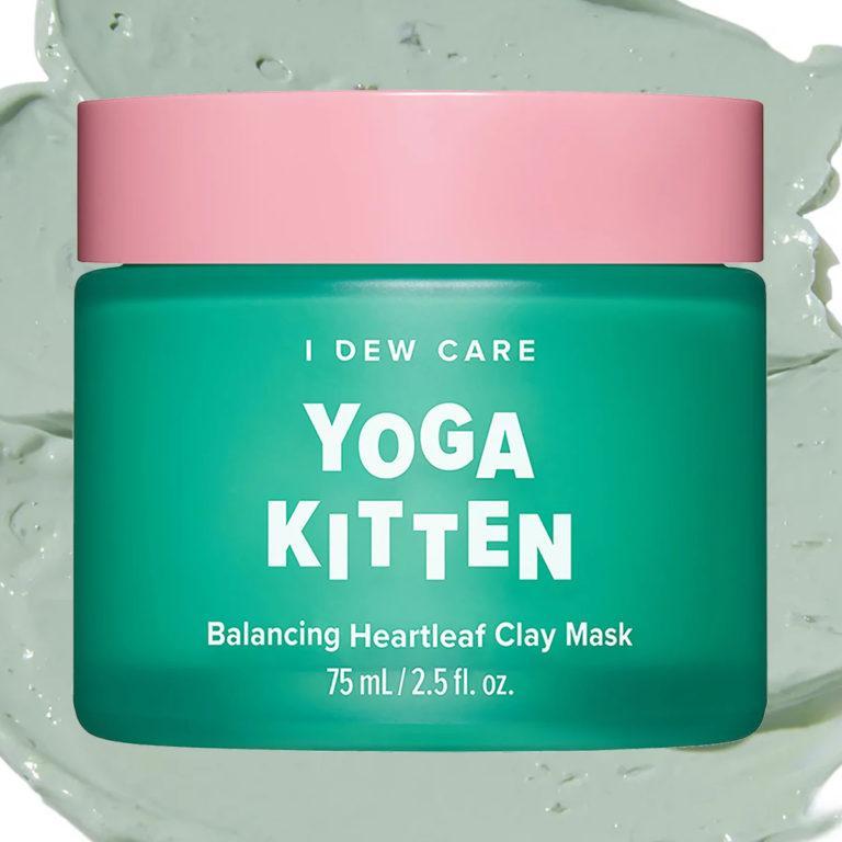 Yoga Kitten Balancing Heartleaf Clay Mask