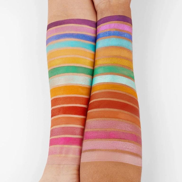 BH Cosmetics Travel Series Trendy in Tokyo Arm Swatches