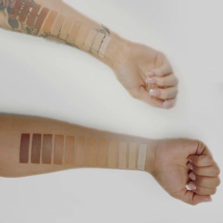 Beauty Creations Flawless Stay Foundation Arm Swatches