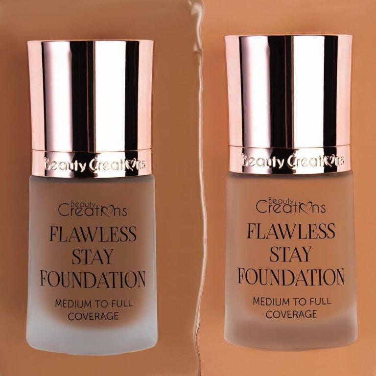 Beauty Creations Flawless Stay Foundation Shades 10.5 & 10.0