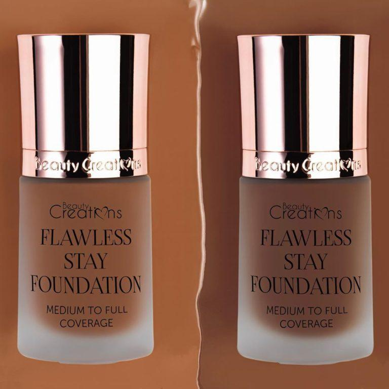 Beauty Creations Flawless Stay Foundation Shades 11.0 & 11.5