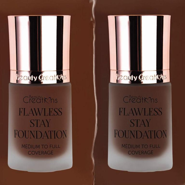 Beauty Creations Flawless Stay Foundation Shades 12.0 & 12.5