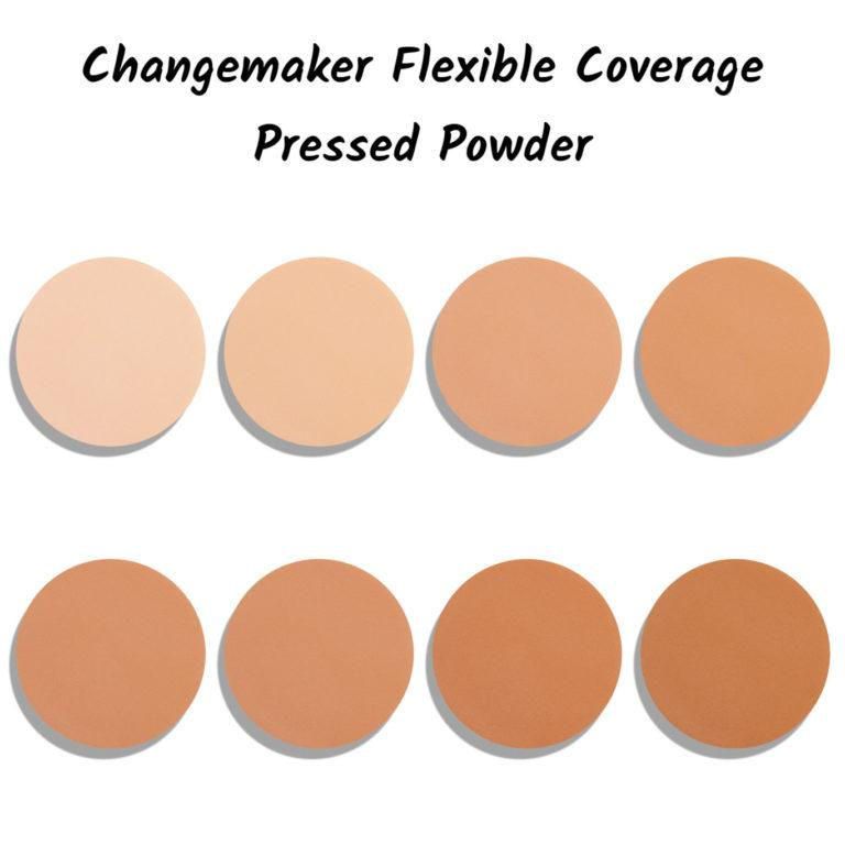 Bite Beauty Changemaker Flexible Coverage Pressed Powder Shades