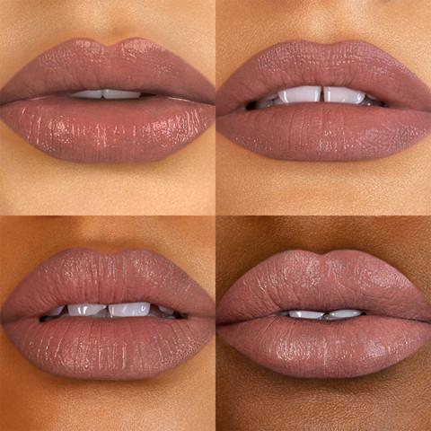 Bite Beauty Power Move Creamy Matte Lip Crayon in Hard Cider lip Swatch