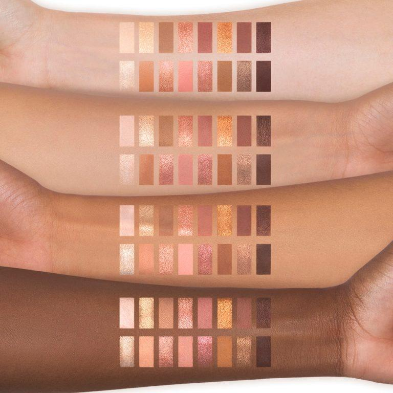 Born This Way The Natural Nudes Eye Shadow Palette Arm Swatches