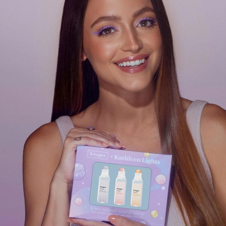 Briogeo + Kathleen Lights B. Well Aromatic Essential Oils Kit Kathleen Box