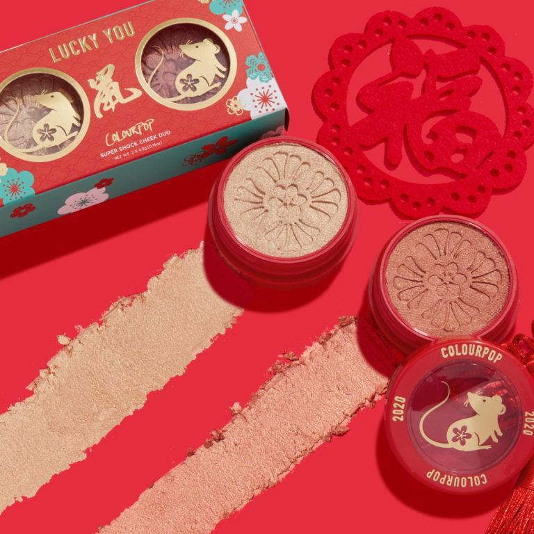 Colourpop Cosmetics Lucky You Super Shock Cheek Duo Promo