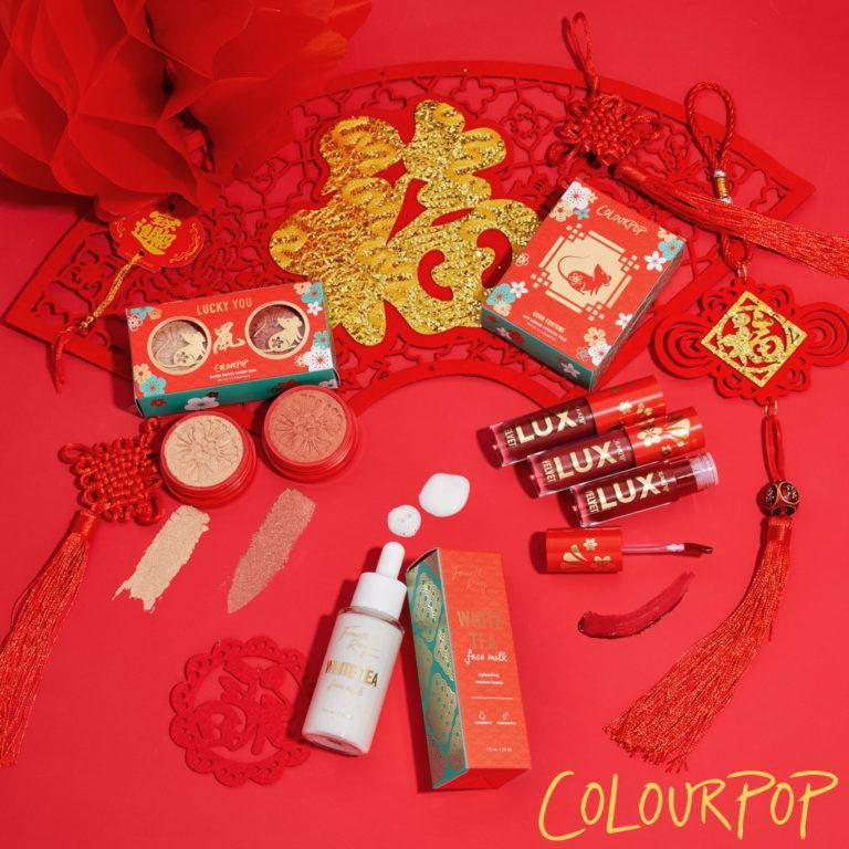 Colourpop Cosmetics Lunar New Year Collection Post Cover