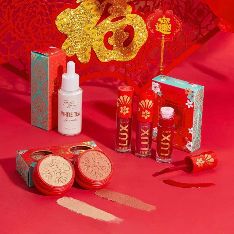 Colourpop Cosmetics Lunar New Year Collection Promo