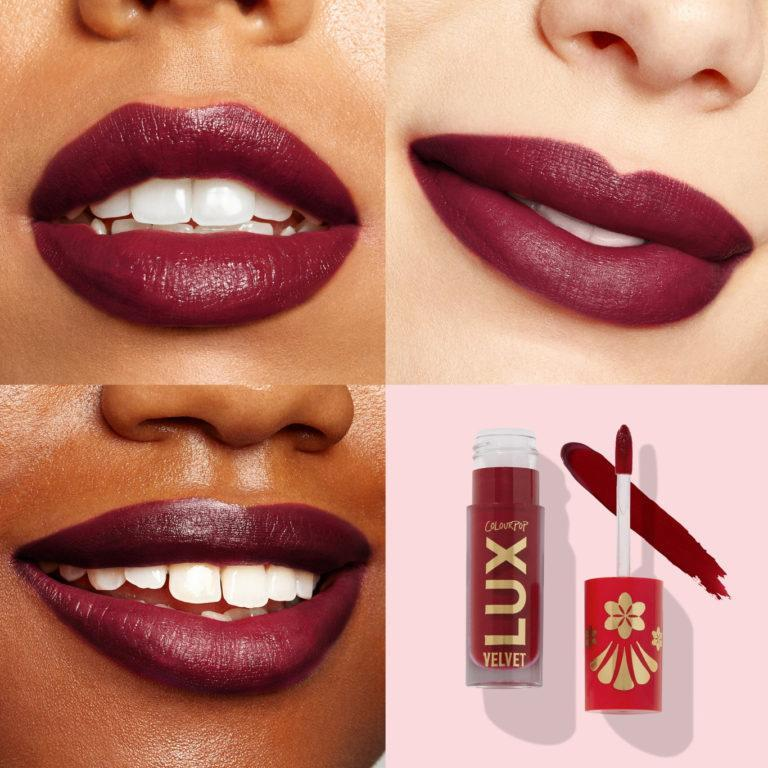 Colourpop Cosmetics Lux Velvet Liquid Lipstick Take A Bao Swatches