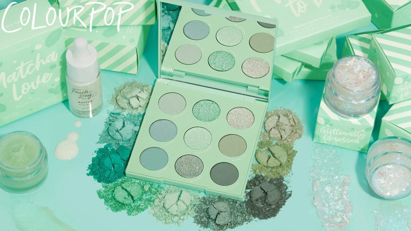 Colourpop Cosmetics Minty Fresh Collection Cover