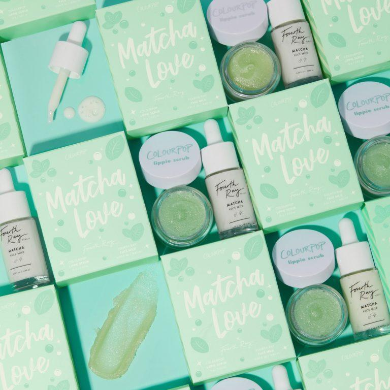 Colourpop Cosmetics Minty Fresh Collection Matcha Love Set
