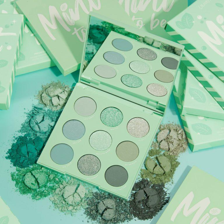 Colourpop Cosmetics Minty Fresh Collection Mint To Be Eyeshadow Palette