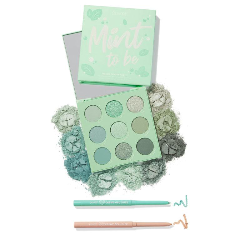 Colourpop Cosmetics Minty Fresh Collection Set Double Mint